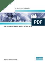 Manual de Instrucciones GA 11+ Al 30 - Desde API 310000