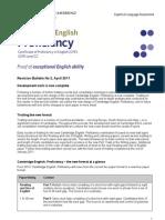 Cpe Revision Bulletin 2