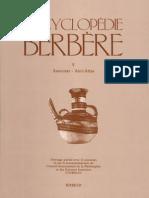 Encyclopédie Berbère Volume 5