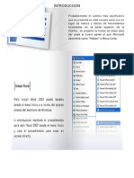Manual de Word y Excel 2007