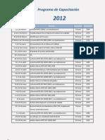 Inteco Programa 2012