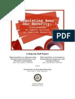 Regulating Away Our Security