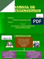SISTEMAS ORG Diapositivas