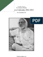 Travel Calendar Booklet 2012-13 LowRes