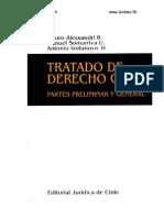 TRATADO DE Dº CIVIL Parte Gral Alessandri - Somarriva