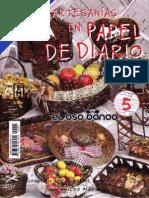 Artesania en Papel de Diario by Dijeja