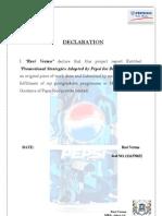 Ravi Project-1 Pepsi