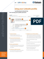 Optimizing your LinkedIn profile