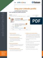 Optimizing your LinkedIn profile