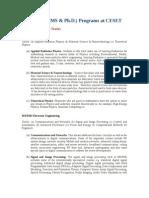 GraduatePrograms&Faculty