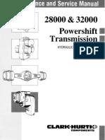 28000 and 32000 Hydraulic Brake Sup