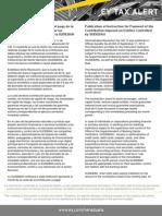 Tax Alert 2012-Instrucciones Pago SUDEBAN