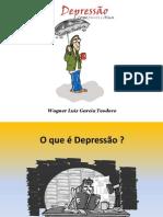 """Palestra do livro """"Depressão"""