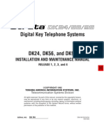 Toshiba Strate DK24 Digital Key Telephone Systems
