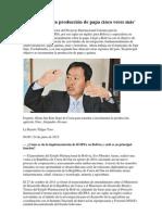 Bolivia subirá la producción de papa cinco veces más