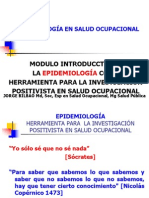 Introducción Uso Epidemiología Salud Ocupacional