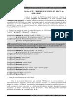 Cuentas Usuario Linux. Gestión de ACLs y Cuotas