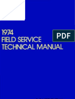 1974 Field Service Technical Manual Dec74