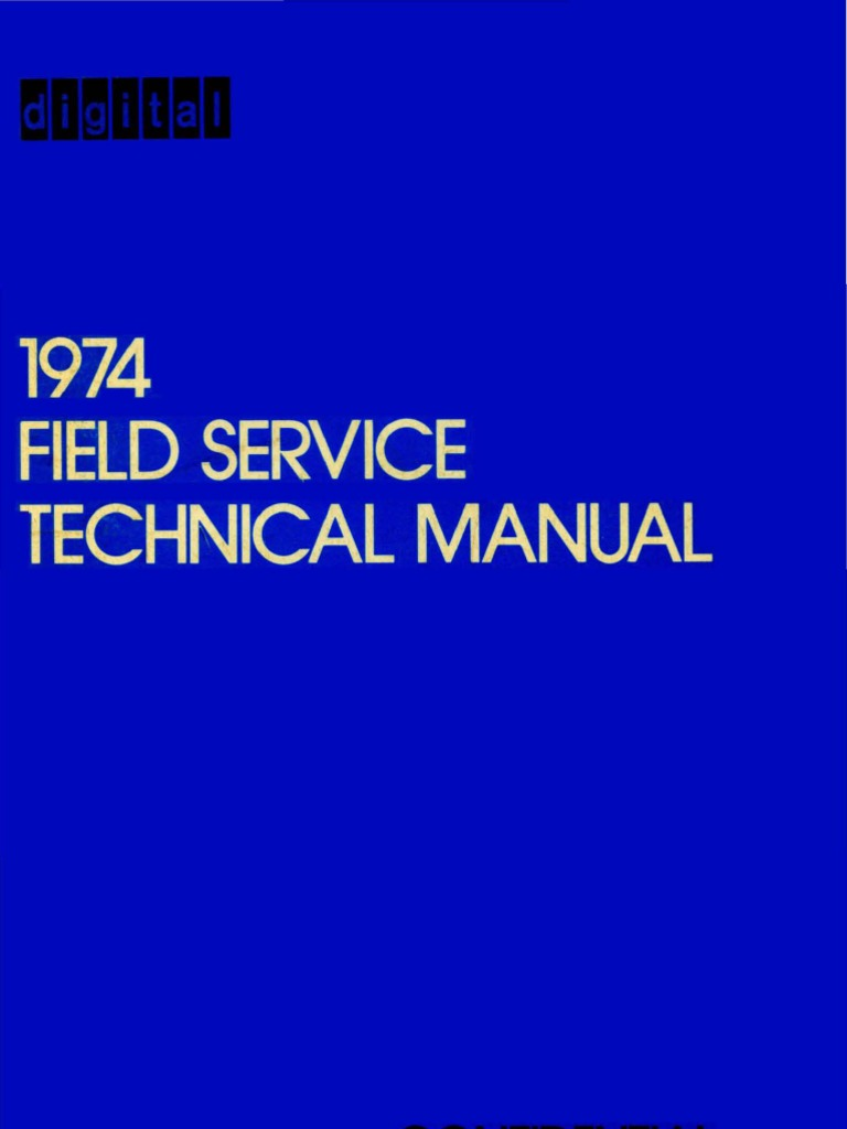 1974 Field Service Technical Manual Dec74 Calibration Analog To R4623 Rotary Switch Wiring Diagram Digital Converter