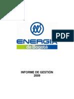 Informe de Gestion EEB 2009