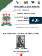 GURÚS DE LA CALIDAD. MATEO DIAZ