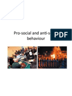antisocial and prosocial
