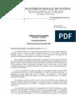 Différend Territorial Et Maritime Nicaragua c. Colombie2007