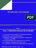 Principios Basicos de Economia 2012
