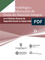 GUIA METODOLOGICA PARA LA ELABORACIÓN DE GUÍAS DE ATENCIÓN INTEGRAL