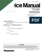 Cf-m34 Service Manual