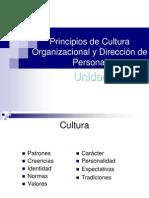 Principios de Cultura Organizacional y Direcci n Del Personal Unidad 3