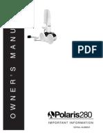 Polaris 280 Inground Swimming Pool Cleaner Manual