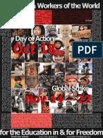 GLOBAL EDUCATION STRIKE, Huelga Global de Educación