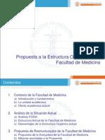 Propuesta Facultad Medicina 2013