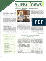 Newsletter Gerson Institute 20120910