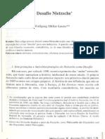 D21 O Desafio Nietzsche