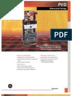 GE PVD Relay Manual