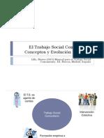 El Trabajo Social Comunitario-conceptos y evolución histórica