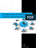 Configuración de VPN Remote Access en Firewall  ASA 5510