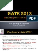 GATE-2013 PPT