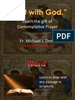 Contemplative Prayer Rest With God Pensecola Intro