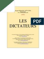 Jacques Bainville, Les Dictateurs