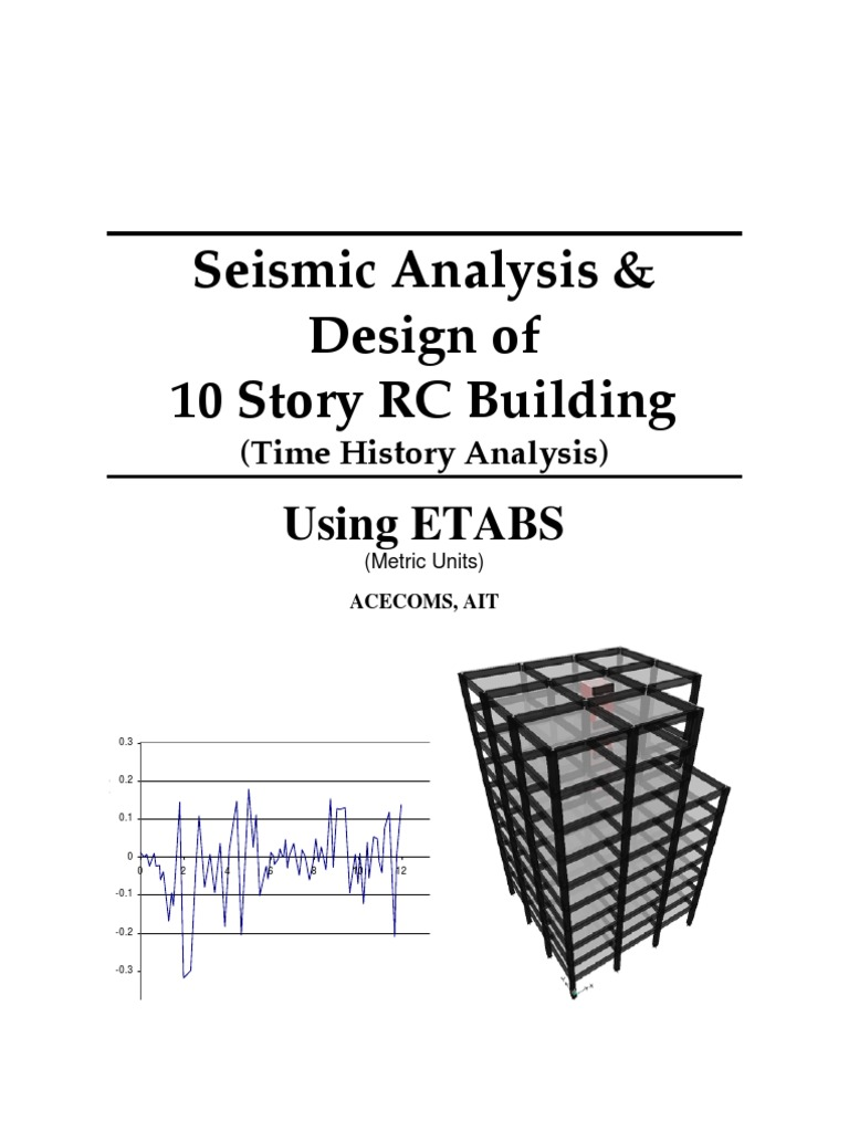 ETABS-Example-RC Building Seismic Load _Time History | Structural Load |  Function (Mathematics)