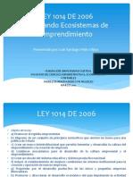 Exposicion Ley 1014 de 2006