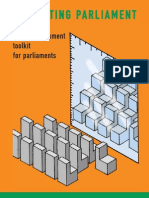 Self Assestment Toolkit for Parliament