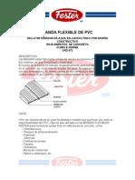 Banda Ojillada Flexible PVC