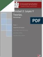 Metodologia, Leyes y Teorias.
