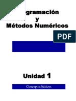 Programación y métodos numéricos