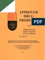 FDA approved drug list