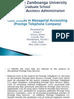 Case Study - Prestige Telephone Co.